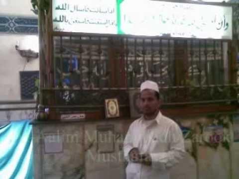 Al aalim Zarook Musthafavi bayan at Fort jumma mosque Galle.