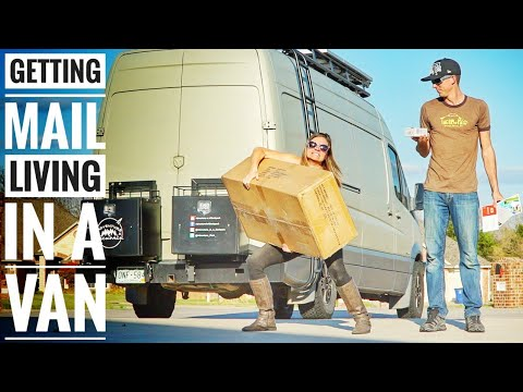 How we get Mail Living in a Van | Our Virtual Mailbox Service