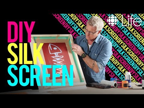 DIY Silk Screen | In The Studio with Steven Sabados | CBC Life