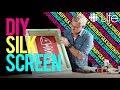 DIY Silk Screen | In The Studio with Steven Sabados | CBC Life