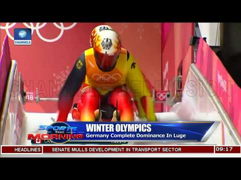 Winter Olympics Germany Complete Dominance In Luge |Sports This Morning|
