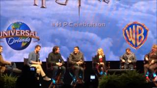 Complete Cast 2014 Harry Potter Celebration James & Oliver Phelps, Evanna Lynch,  Matthew Lewis