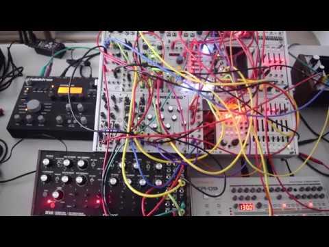 Moog DFAM + Akemies Taiko + Loquelic Iteritas + Basimilus Iteritas Alter + MUM M8