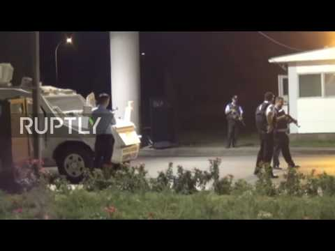 Turkey: Diyarbakir airport hit by rockets