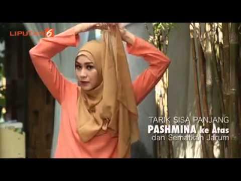Cara Hijab Segi Empat Ala Zaskia Mecca Bisabo Channel