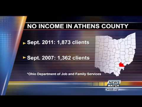 Living With No Income In Athens County