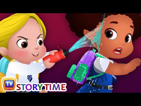 Cussly Learns To Save Water - Good Habits Bedtime Stories & Moral Stories for Kids - ChuChu TV
