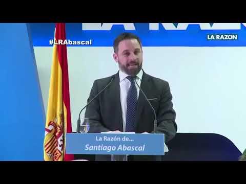 """Santiago Abascal en 'La Razón de..."""": """"VOX es el gran ganador de las próximas elecciones"""""""