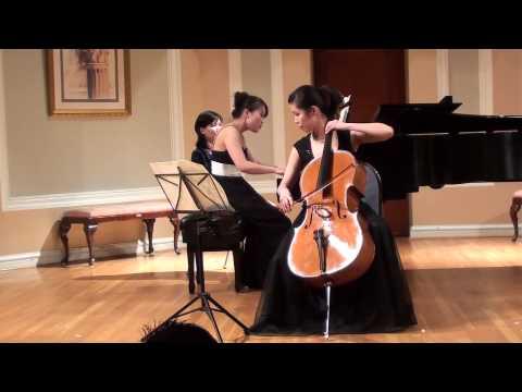 Sonata in D major, Allegro assai vivace by F. Mendelssohn  (Cello  大提琴)