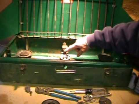 how to clean a coleman stove