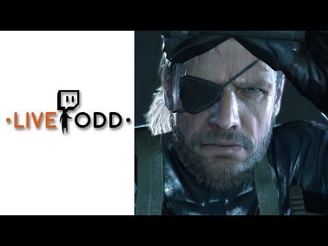 Twitch Archive - Get Ready for MGS V The Phantom Pain with MGS V Ground Zeroes !