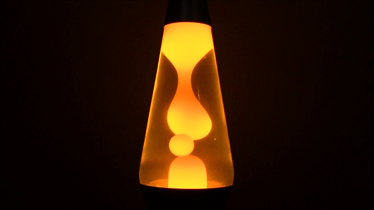 Lava Lamp Yellow 4+ Hours Of Relaxing Decompress Enjoy See ...