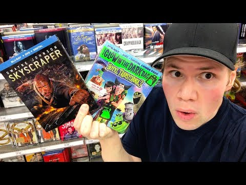 Blu-ray / Dvd Tuesday Shopping 10/9/18 : My Blu-ray Collection Series