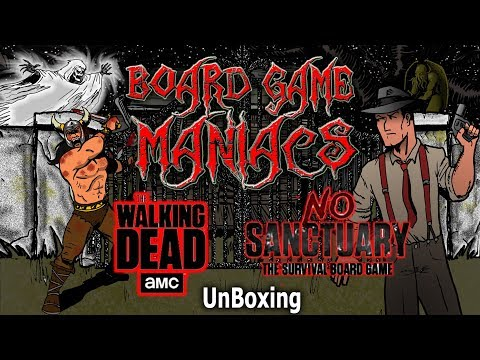 AMC's The Walking Dead No Sanctuary - UnBoxing