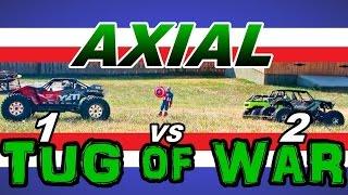 Axial Yeti XL VS Deadbolt & Wraith Tug of War Challenge 2 VS 1 - TheRcSaylors
