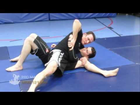 MMA Submission - Getting The Arm Bar With Your Legs