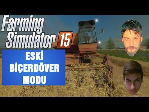 Farming Simulator 15 Türkçe Multiplayer | Biçerdöver Modu | Harita Modu | Bölüm 93