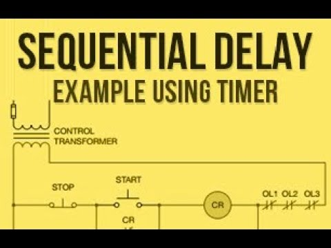 Sequential delay example using timer plc ladder logic example sequential delay example using timer plc ladder logic example part 25 ccuart Choice Image