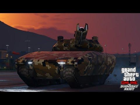 UN NOUVEAU TANK (Khanjali) SURPUISSANT ARRIVE SUR GTA 5 ONLINE DLC BRAQUAGE DE LA FIN DU MONDE