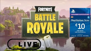 Fortnite Battle Royal| LIVE EVENT/12H STREAM|10 EURO VERLOSUNG| COINSYSTEM| (820Abos?)