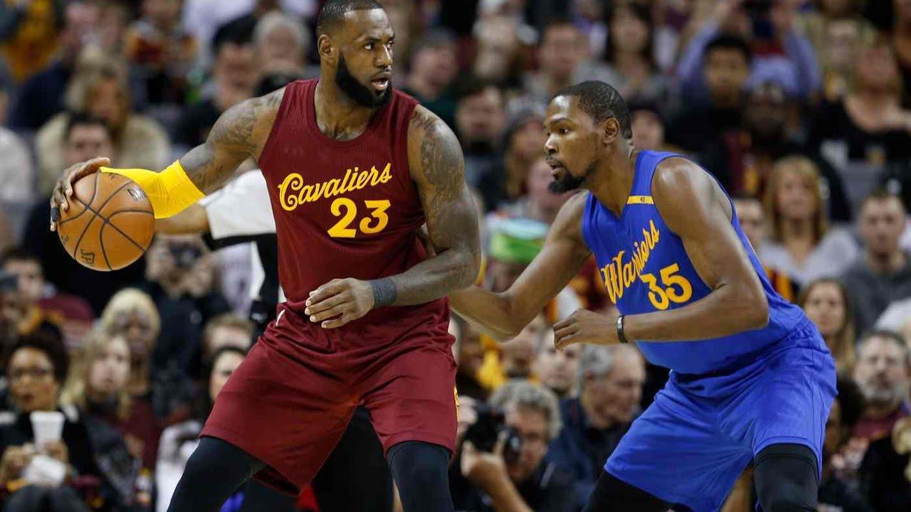 e9bab6c6e LeBron James vs Kevin Durant (25 12 2016) - MVP Duel On Xmas Day ...