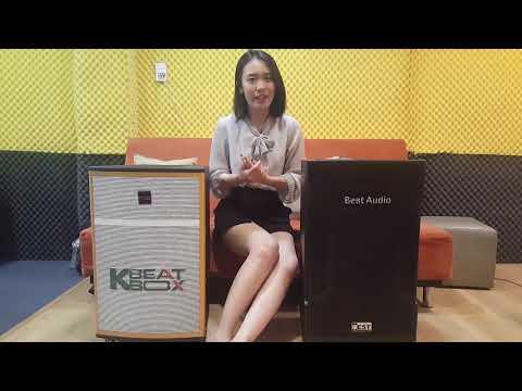 So Sánh 2 Dòng Loa Đang Hót Thị Trường Loa Kéo Best BT 6800 Với Loa Acnos Beatbox CB42W
