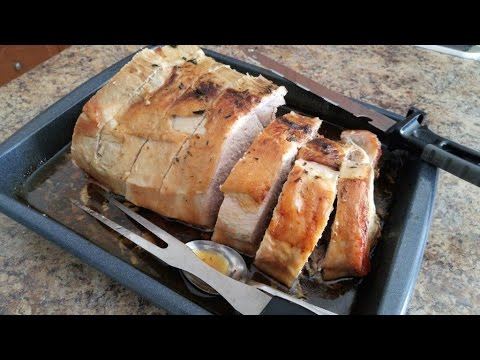 Bone-in Pork Loin, Sirloin Half, Roast