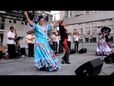 Ballet Folklorico Puro Mexico - Jarabe Tapatio, Jalisco - Toronto, Canada