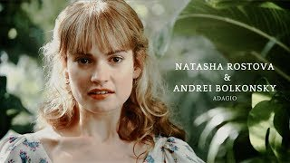 Natasha Rostova & Andrei Bolkonsky [War and Peace, 2016] ♥ Наташа Ростова и Андрей Болконский