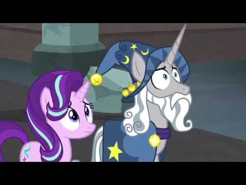 My little pony-shadow play spoiler - the mane 6 saving a pony and defeating the pony of shadows