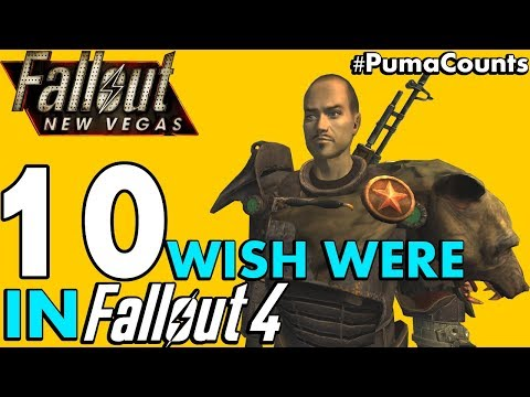 Top 10 Fallout: New Vegas Armor and Power Armors I wish were in Fallout 4 #PumaCounts