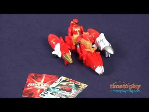 Power Rangers Megaforce Sky Brothers Zord Vehicle & Red Ranger From Bandai America