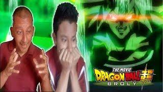 Dragon Ball Super: Broly Trailer Official  REACCION Y OPINION