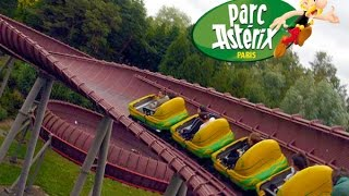 parc Asterix la trace du hourra (on ride)