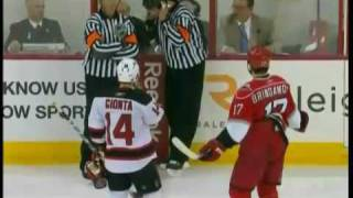 Brodeur goes Crazy after goal with 0.2 seconds left!