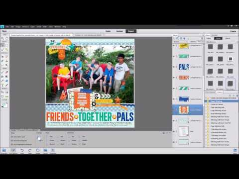 Creating Custom Shadows In Photoshop Elements With Cheryl