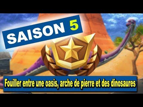 fortnite---défi:-fouiller-entre-une-oasis,-arche-de-pierre-et-des-dinosaures
