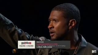 "Usher and Blake Shelton - Stand By Me |  ""Hand In Hand"" A Benefit For Hurricane Relief 