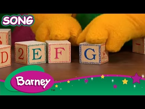 Barney  B is for Barney and ABCs SONG