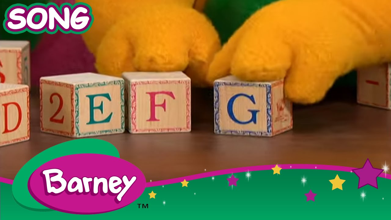 Barney B Is For Barney And Abcs Song Youtube