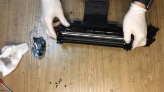 Заправка картриджа D108S(Этот ролик обработан в Видеоредакторе YouTube (http://www.youtube.com/editor), 2017-01-16T16:44:51.000Z)