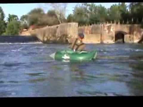 Peche float tube  rodeo fishing team Vitamine