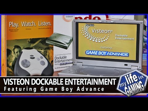 Visteon Dockable Entertainment Featuring Game Boy Advance :: Hardware Showcase - MY LIFE IN GAMING