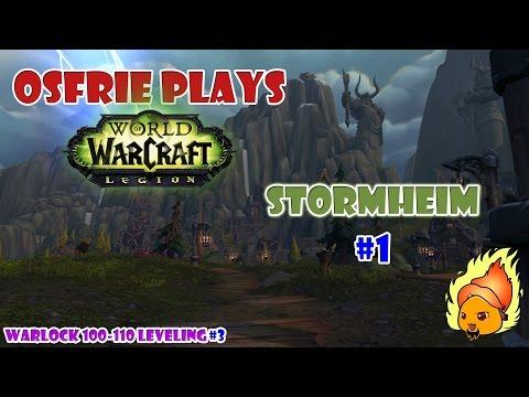 Legion Warlock 100-110 [Stormheim #1] - the Broken Isles