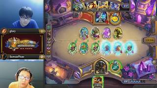 glory vs SamuelTsao - Hearthstone Grandmasters Asia-Pacific - Week 2