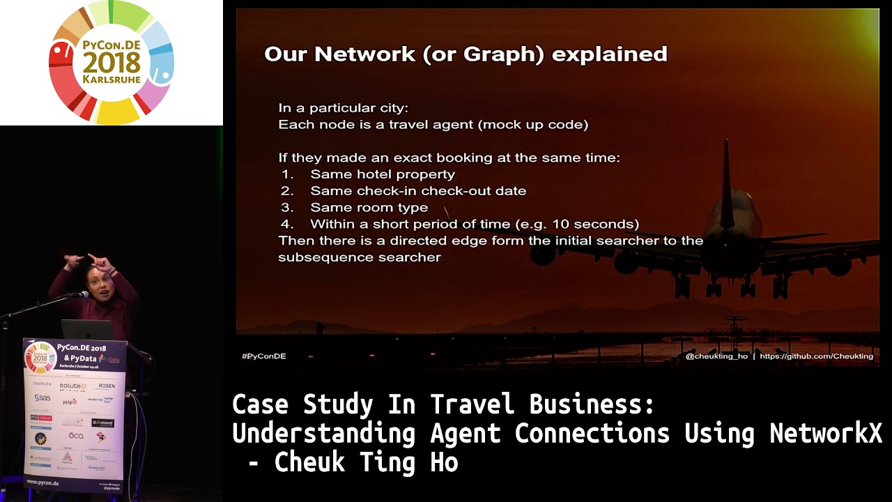 PyVideo org · Case Study in Travel Business - Understanding agent