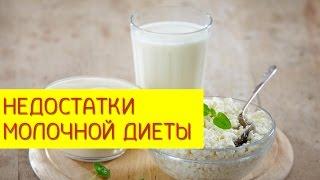 Молочная диета. Недостатки молочной диеты и противопоказания. [Галина Гроссманн]