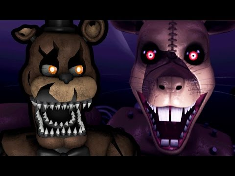 NIGHTMARE FREDDY PLAYS: Five Nights at Candy's 3 (Night 1) || YOU HAVE TO FACE THE MONSTERS