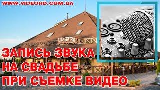 Ресторан «Шале» / Запись звука на банкете / Свадьба в Житомире / Видеооператор на свадьбу Житомир