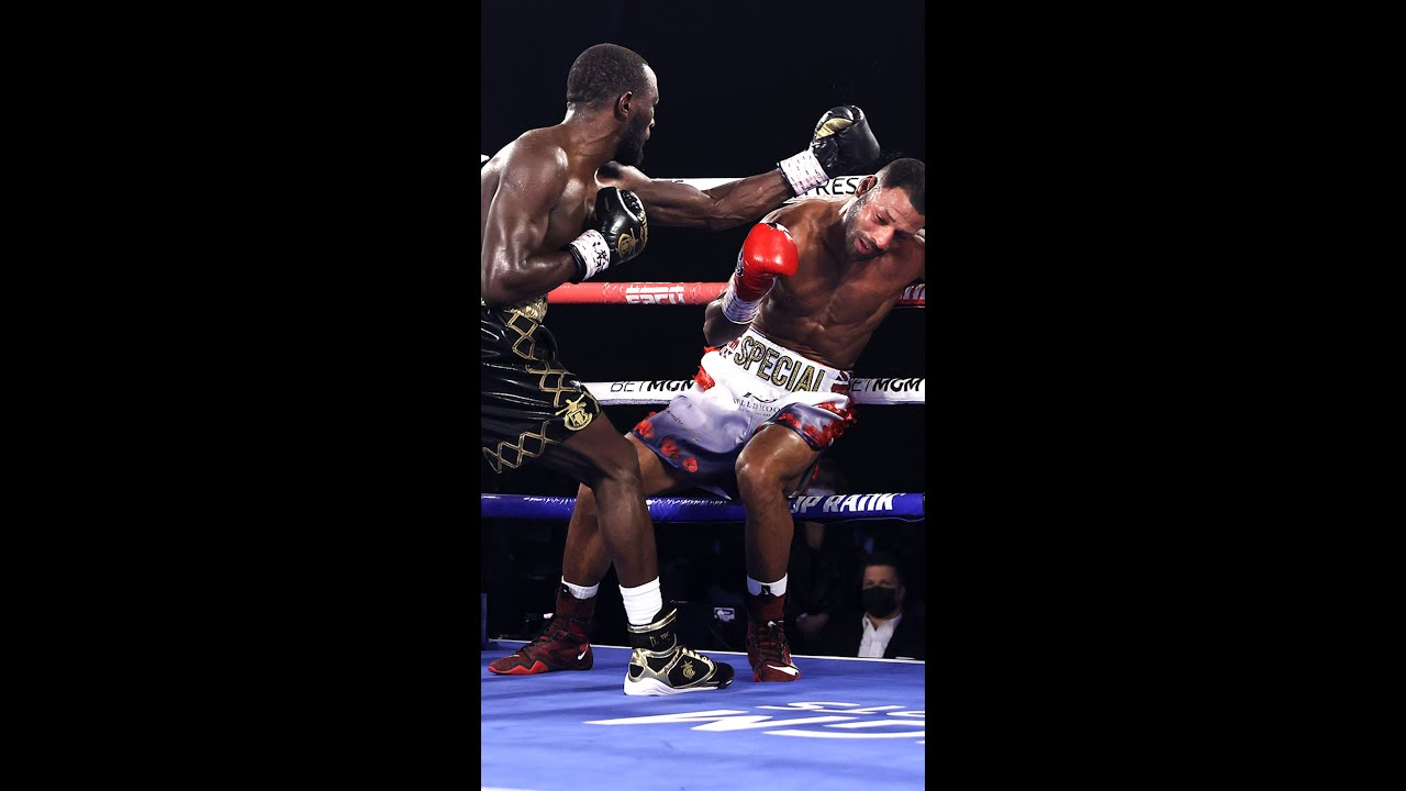The Time Terence Crawford put the Hands to Kell Brook #Shorts